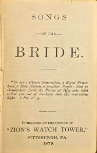 songs of the bride inside cover